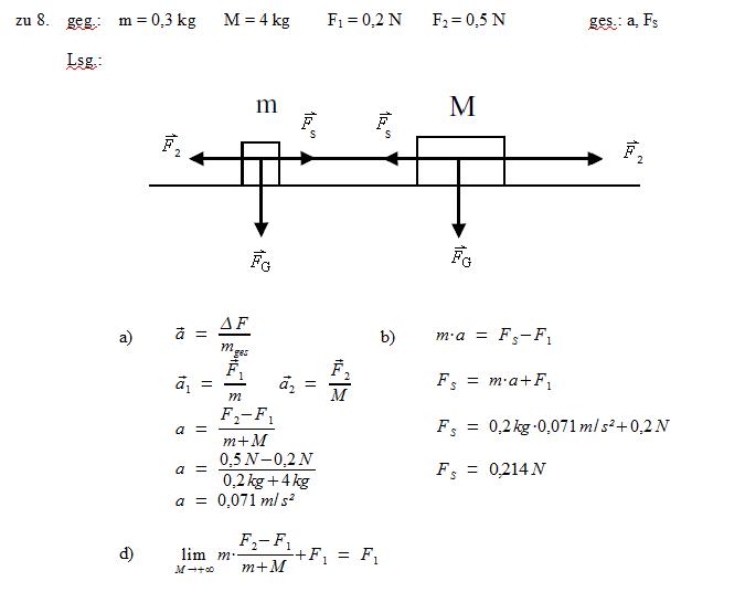 patricks physikseite physikaufgaben mit loesungen